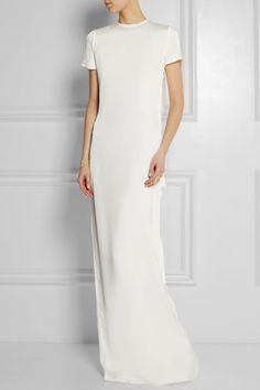 a classic wedding dress by Lanvin