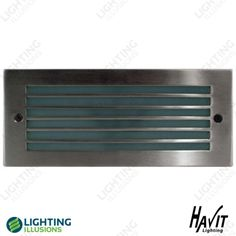 Cool White 316 Stainless Steel Grill Cover Brick LED Light 240v - Shop - Lighting Illusions Online
