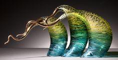 """Rick Eggert, Artist, Gulf Breeze, 9""""H x 17""""W x 6""""D #PurelyInspiration"""