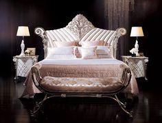 Italian Furniture - Luxurious Laiya Italian Bedroom Furniture