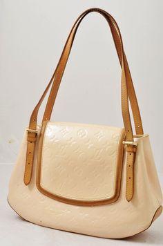 Louis Vuitton Pink Vernis Biscayne GM Women's Shoulder Bag