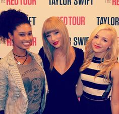 Taylor Swift and Payton List! If you have ever seen Payton's show, Jessie, she has some really cute clothes! Snowwhitestyle