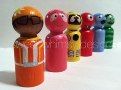 the+tv+collection++yo+gabba+gabba+by+thewhimsicalsweet+on+Etsy,+$40.00