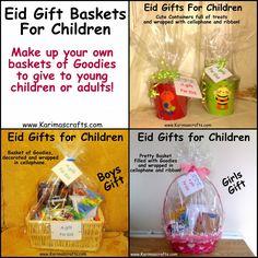 Karima's Crafts: Eid Gifts Ideas - 30 Days of Ramadan Crafts Islamic Muslim