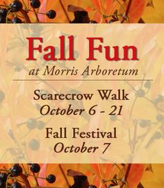 The Morris Arboretum Fall Festival Returns This Sunday, October 7. #SEPTA Route: 27, Broad Street Line + Bus L (from Center City).