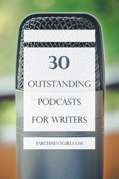 Need a little inspiration? Whether you're a blogger, author, or screenwriter, there's a writing podcast for you on this list!