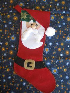 Arte e Mimos - Artesanato em feltro: Feliz Natal!