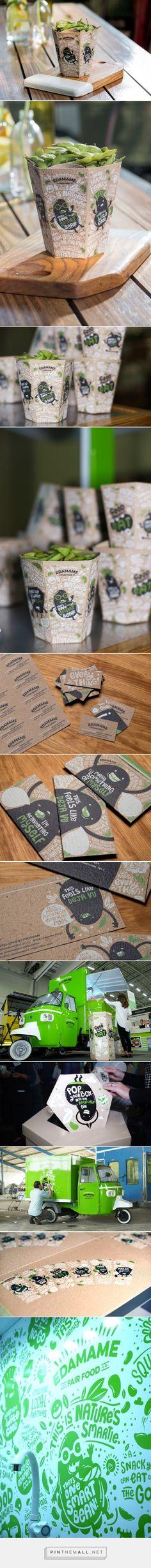 One Smart Bean Edamame packaging designed by The Hardy Boys & THB Disturbance - http://www.packagingoftheworld.com/2015/08/edamame-one-smart-bean.html