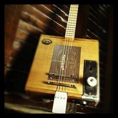 Medicine Man Cigar Box Guitars.