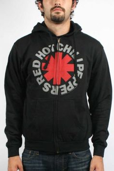 Red Hot Chili Peppers Asterik Zip Mens Hoodie $47.99...getting mine in September! YAY!