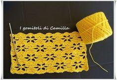 Crochet edging patterns shawl beautiful 68 New ideas Crochet Stitches Chart, Crochet Edging Patterns, Crochet Amigurumi Free Patterns, Crochet Diagram, Lace Patterns, Crochet Designs, Knitting Patterns, Débardeurs Au Crochet, Beau Crochet