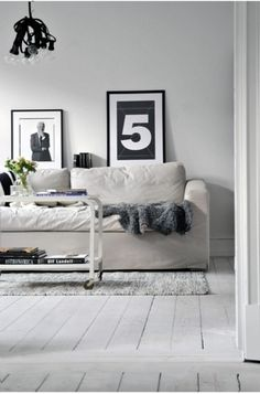 sfgirlbybay:    (via Calm And Casual House Designed In White And Light Grey Colors | DigsDigs)