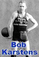 In 1943, Bob Karstens became the first ever Caucasian to play under contract for the Harlem Globetrotters.