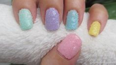 DIY Series Crystallized Nail Art DIY Nails Art