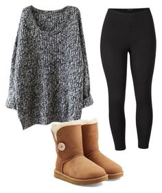 """""""Untitled #112"""" by ouuitskae on Polyvore featuring Venus, UGG and plus size clothing"""