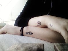 Panda tattoo...so freakin' cute!