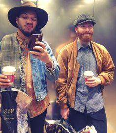 Obligatory @urbanoutfitters lift #selfie  #chrismas #shopping #me #gpoy #selfie #beard #beardy #menwithbeards #menwithtattoos #boyswithtattoos #boyswithbeard #beardgang #beards #vintage  #style #piercing #instagram #insta #ink #tattoo #tattooed #septum #fedora #menstyle #mensfashion #streetstyle #braids #manbraid