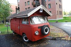Mobile Sauna, Otaniemi, Espoo, Finland