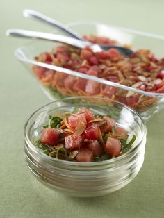 Watermelon Board   Gingered Japanese Salad