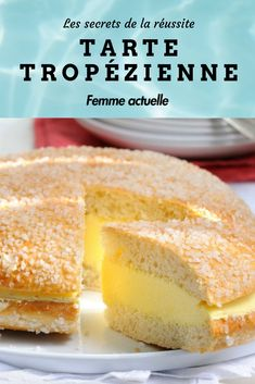 Tarte Tropézienne: the secrets of success Banana Dessert Recipes, Easy Cake Recipes, Easy Desserts, Sweet Recipes, French Apple Cake, Easy Apple Cake, French Patisserie, Sweet Pastries, Food Cakes