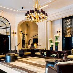 Prince de Galles Hotel Lobby