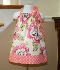 baby girl Pillowcase Dress Amy Butler SALE gypsy by BlakeandBailey, $15.00