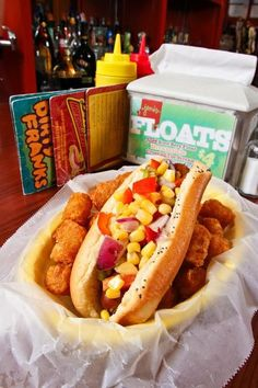Dirty Franks; Columbus, Ohio The franks served here are Vienna all-beef wieners; beyond that, Dirty Franks has made sure to create an option for just about everyone. There are more than 20 styles to choose from, including toppings like brisket, corn relish and Sriracha-cream cheese. Vegetarians are covered, too: The same treatments are offered for Tofurky pups. dirtyfrankscolumbus.com