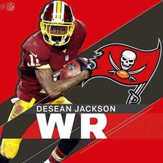 DeSean Jackson leaves the Washington Redskins and the NFC East and signs with the Tampa Bay Buccaneers of the NFC South. Cowboys. Giants. Eagles. Saints. Panthers. Falcons. Wide Receiver. Pro Bowl. NFL. Free Agency. Kirk Cousins. 49ers. Tony Romo. Broncos. Cowboys. Texans. Brock Osweiler. Browns. Patriots.
