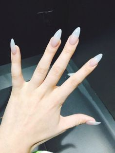 1000 Ideas About Long Almond Nails On Pinterest | Almond Nails pertaining to Prime Long Almond Nails