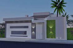 House Gate Design, Modern House Design, Door Design, Fake Walls, Compound Wall Design, Modern Garage Doors, Boundary Walls, My Ideal Home, Outdoor Doors