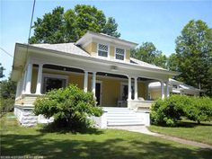 1910 Classical Revival - Phillips, ME - $149,900 - Old House Dreams
