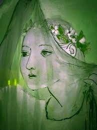 Green - Pablo Picasso, Star Light, Star Bright