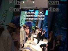 Bill Kaulitz IG Stories: @ottolinger1000 @thestoresdotcom @referencestudios – ♡ louder than love ♡