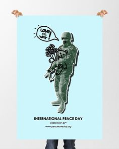 International Peace Day Poster by Lily Lê
