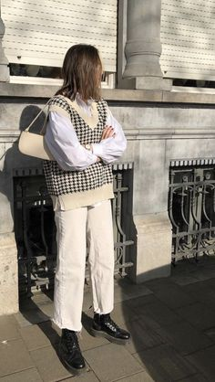 Adrette Outfits, Indie Outfits, Retro Outfits, Cute Casual Outfits, Vintage Outfits, Casual Dresses, Casual Weekend Outfit, Paris Outfits, Flannel Outfits
