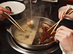 Mongolian hotpot at Mongolian Grill (Clapham)