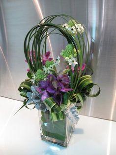 Precioso arreglo Floral de orquideas