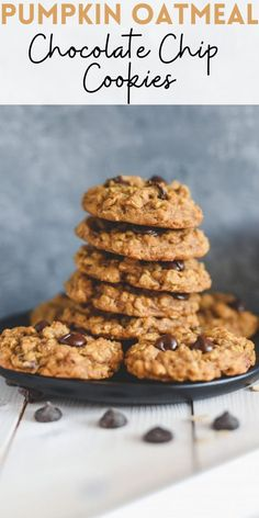Nothing beats the moisture and flavor pumpkin adds to baked goods. This Pumpkin Oatmeal Chocolate Chip Cookie recipe is the proof you're looking for!