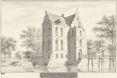 Cornelis Pronk | Het kasteel te Enspijk, Gelderland, Cornelis Pronk, 1728 - 1732 |