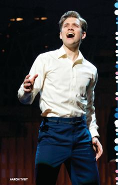 Aaron Tveit- fangirling so hard <3