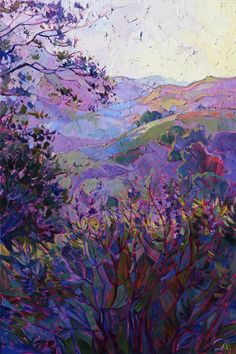 Paso Robles wine country  by Erin Hanson