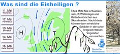RAOnline EDU: Klima - Wetter - Wetterregeln: Eisheilige, Siebenschläfertag