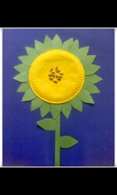 22 Spring Crafts  sc 1 st  Pinterest & paper-plate sunflower with loose tea for center or make another ...