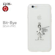 Amazon.co.jp: &y【sym】iPhone6 4.7インチ ソフトTPUケース キャラクター IMD光沢印刷 Bit・Bye(ビット・バイ) 乳白クリア: 家電・カメラ