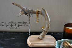 Antler jewelry holder  from urban nester blog