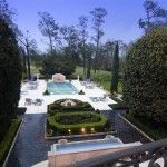 A fantastic Billy Madison-esque pool in River Oaks!