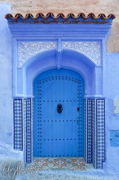 Morocco Photography Chefchaouen Print Blue City Chaouen | Etsy Le Riad, Marrakech Morocco, Morocco Chefchaouen, Blue City Morocco, Mountain City, Blue Building, Morocco Travel, Africa Travel, Colourful Buildings
