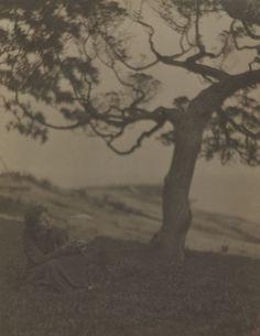 "Clarence H. White, ""Rose Pastor Stokes, Caritas Island, CT"" 1906"