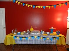 Knight and Shining Armor 1st Birthday Party {DECORATIONS}  Pictures and How-to's