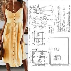 Clothes Crafts Diy Dress Tube Sewing Patterns Modeling Build Your Own Knifes How To Make Crafts Diy Clothes Fashion Sewing, Diy Fashion, Fashion Outfits, Moda Fashion, Budget Fashion, Fashion Wear, Fashion Trends, Dress Sewing Patterns, Clothing Patterns